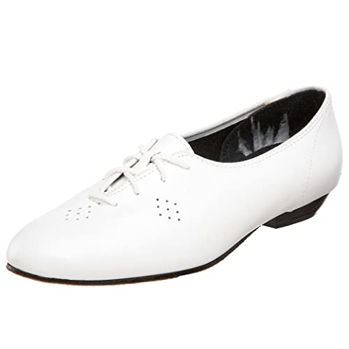 DIY Dance Shoes- Ballroom, Lindy, Swing  Womens Dancer Tic-Tac-Toes $87.00 AT vintagedancer.com
