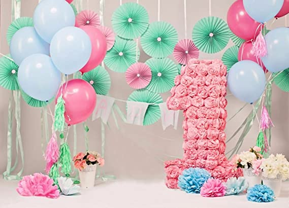 Gardenia - Globos de Papel, Diseño de Flores, para Fiestas ...