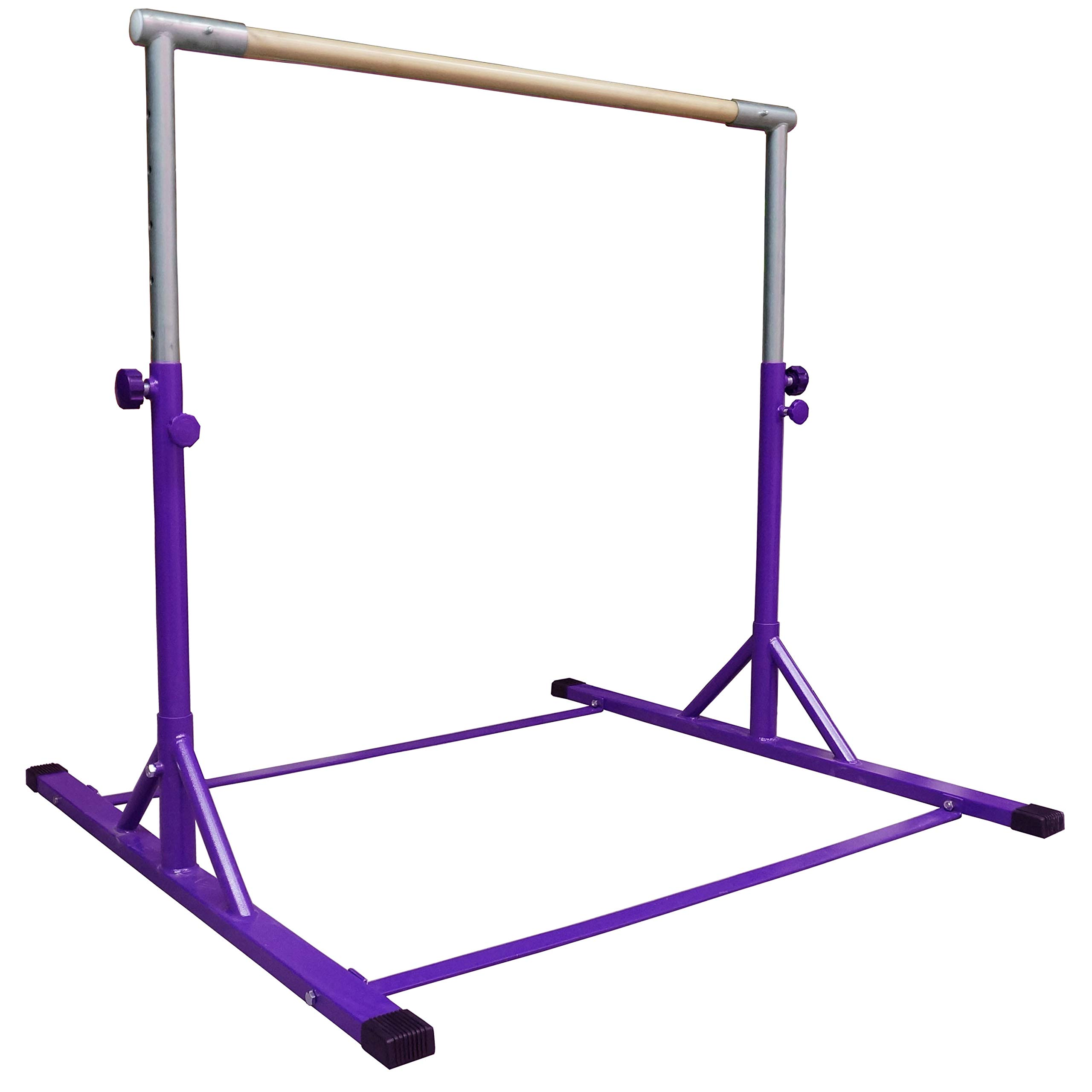Z-Athletic Gymnastics Expandable Kip Bar (Purple)