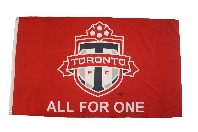 Toronto FC Canada MLS Soccer Football Car Bumper Sticker Decal 5 x 5