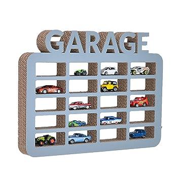 Favorit ecoono gsmarkt   Wellpappe Hänge Regal Garage für Spielzeugautos XC66