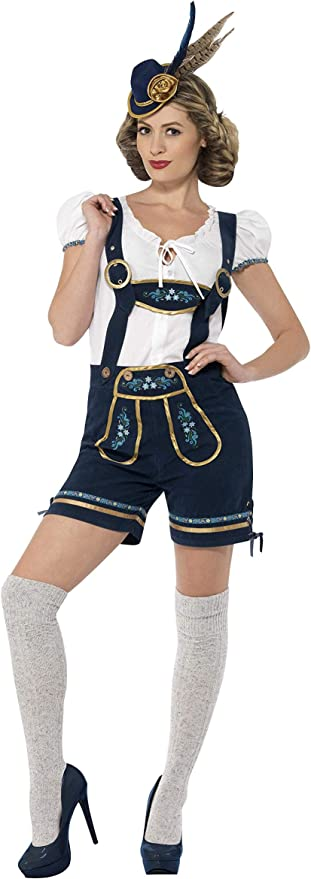 Amazon.com: Smiffy s Deluxe traje bávaro tradicional de la ...