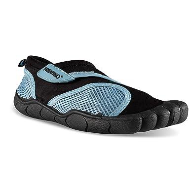 c179bd84498 Amazon.com: Fresko Toe Water Shoes for Women; Purple, Pink, Blue; Cute Ladies  Aqua Shoes: Shoes