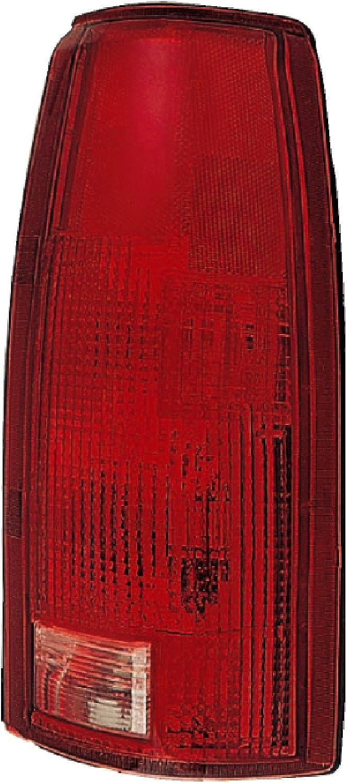 BLACK HOUSING CLEAR LED TAIL+RED 3RD BRAKE LIGHT FOR 92-00 SUBURBAN//TAHOE//YUKON
