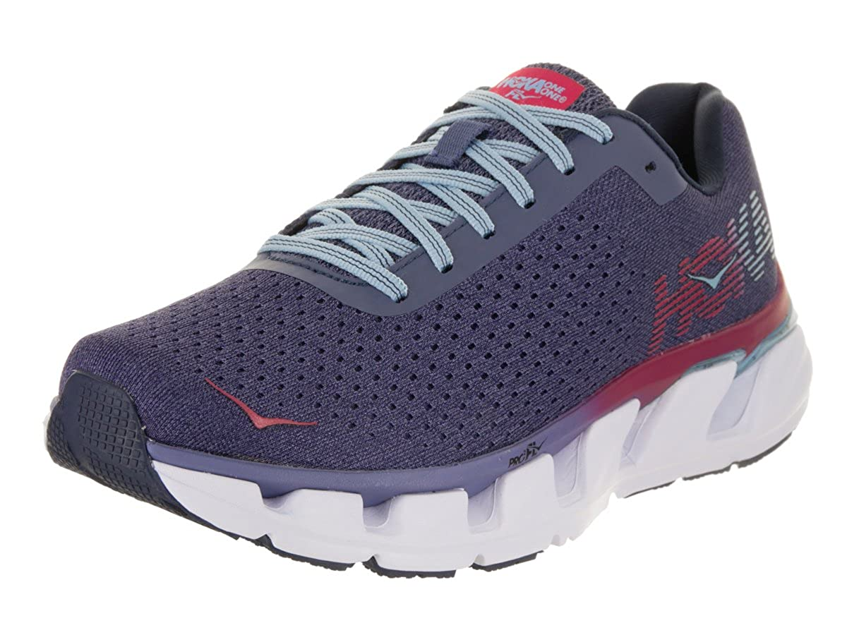 Hoka One One Elevon Damen Laufsport Schuhe, Marlin/Blau Ribbon, 40 EU
