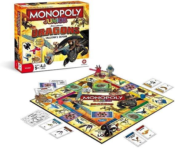 Winning Moves win44161 – Monopoly Junior de Dragons Collectors Edition Parte: Amazon.es: Juguetes y juegos
