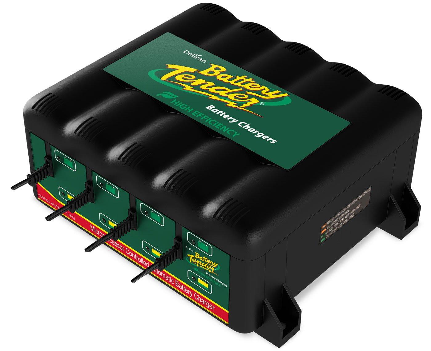 Battery Tender 022-0148-DL-WH 12-Volt 4-Bank Battery Management System Deltran SS-SMS-214819