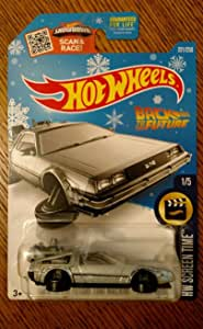 Hot Wheels Back to The Future Delorean Time Machine-Hover Mode Snow Flake Card 221/250 Rare Hw Screen time 1/5