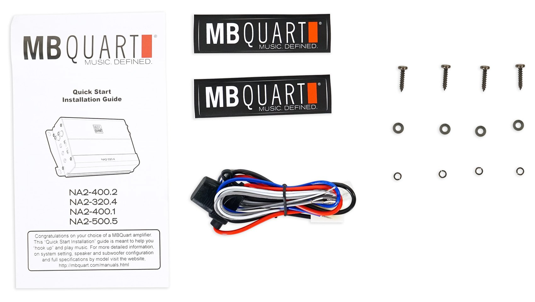 MB QUART NA2-400.2 400w 2-Channel Amplifier Amp For Polaris/ATV/UTV/RZR/CART by MB Quart (Image #8)