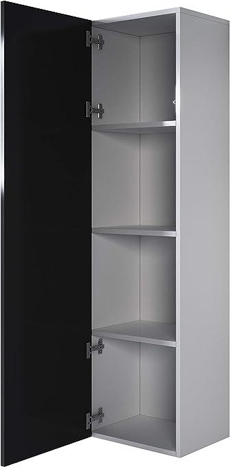 muebles bonitos Armario Colgante Modelo Luke V4 40x165cm Color Blanco