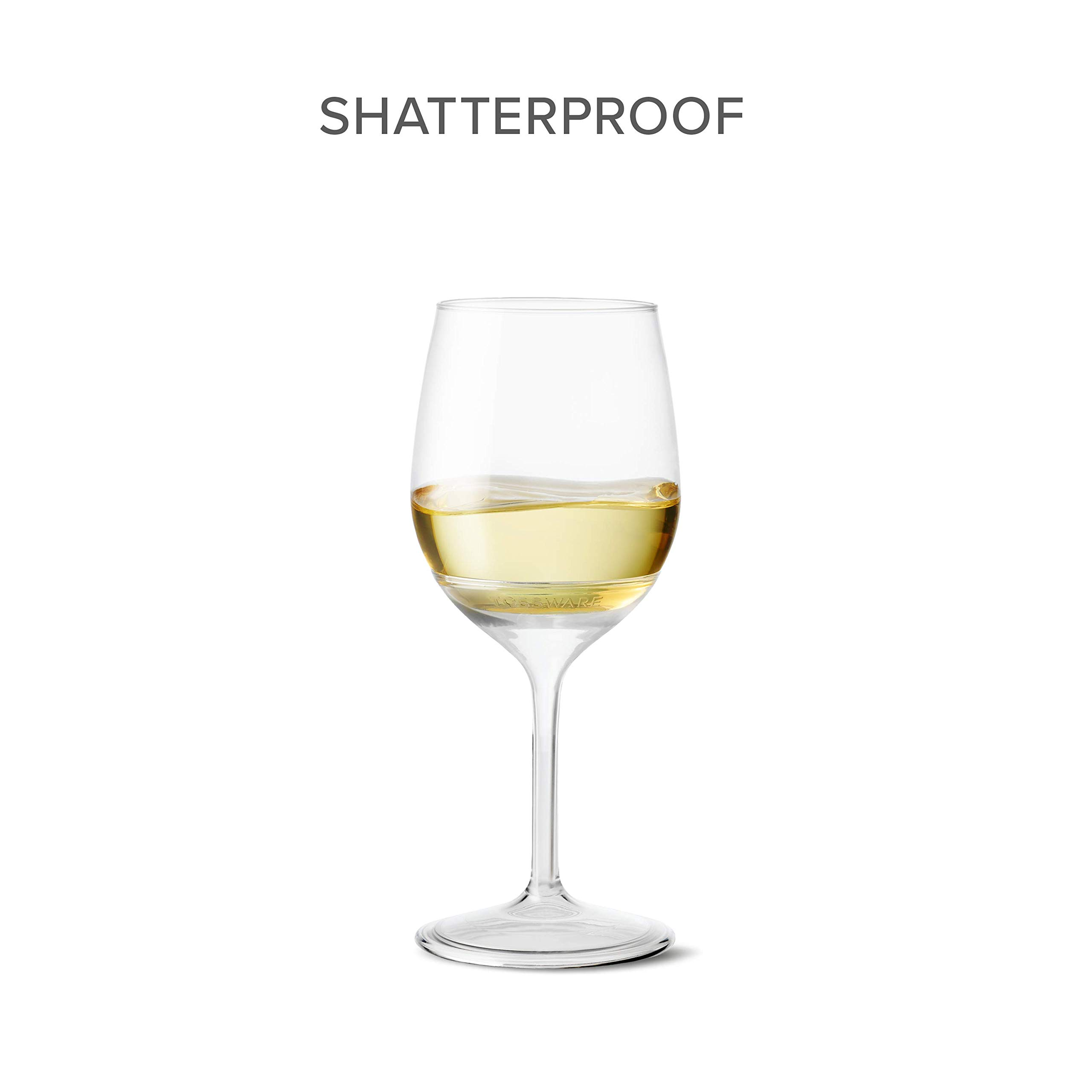 TOSSWARE 14oz Stemmed Vino- recyclable wine plastic cup -SET OF 12- detachable stem, shatterproof, and BPA-free wine glasses by TOSSWARE (Image #5)