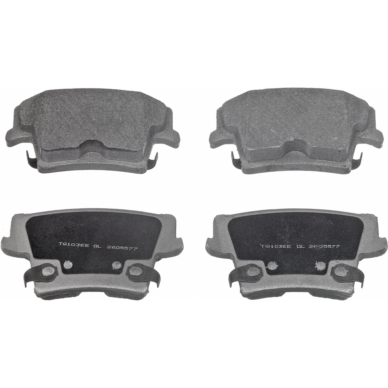 Disc Brake Pad Set-ThermoQuiet Disc Brake Pad Rear Wagner MX1057