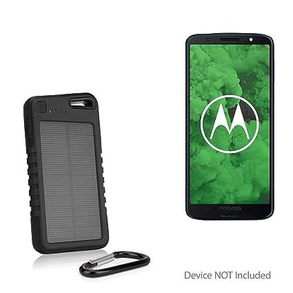 sale retailer b8f1e 6b997 Amazon.com: BoxWave Motorola Moto G6 Plus Battery, [Solar Rejuva ...
