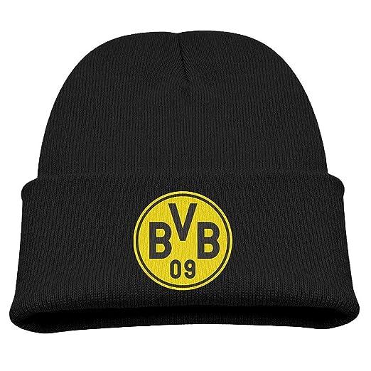 86db1225062 Amazon.com  Vickyyoo Borussia Dortmund Logo Winter Knit Cap Beanie Cap for  Kids  Clothing