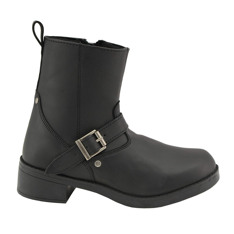 Milwaukee Leather Boys Boots Black 6.5