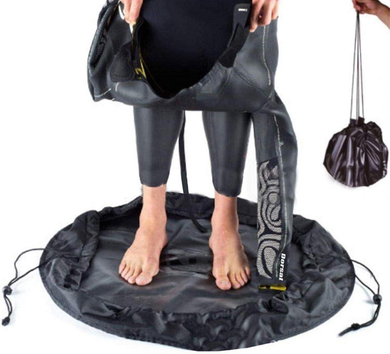con manici e cinghie per surfisti spiaggia Fasciatoio per muta costume da bagno nuotatori Basisago surf triatleti resistente impermeabile ideale per surf