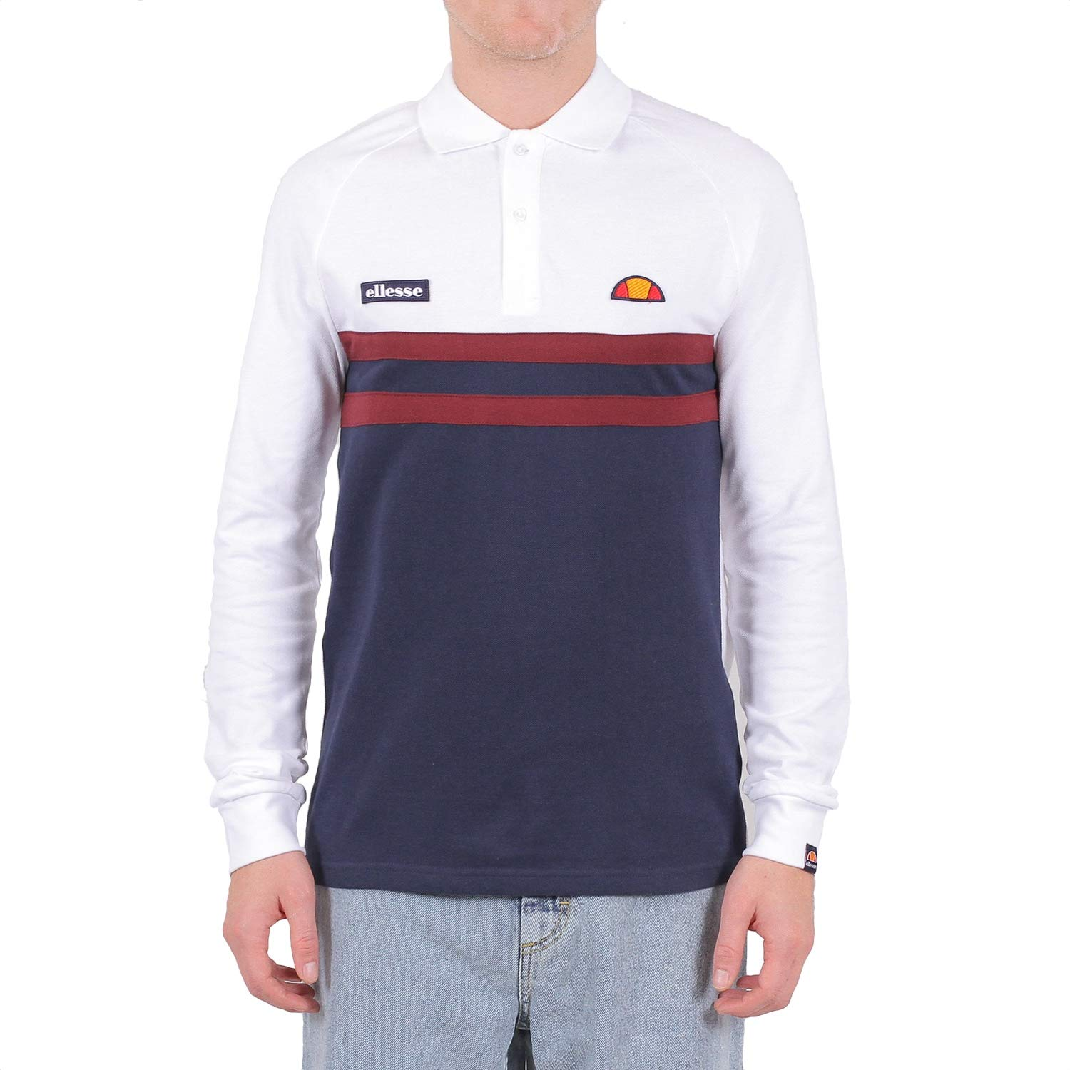 Ellesse Men Polo Shirt Lovaro Rugby Top: Amazon.es: Ropa y accesorios
