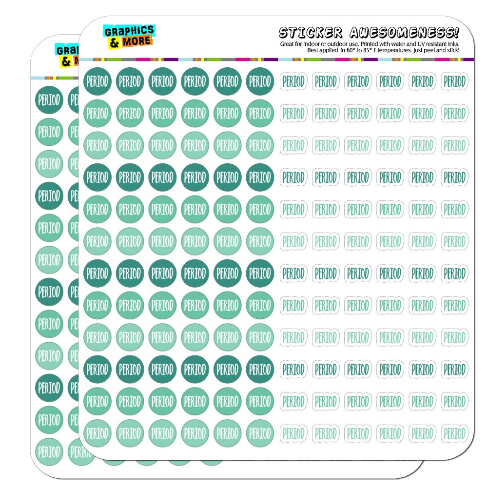 Amazon.com: Period Dots Planner Calendar Scrapbooking ...