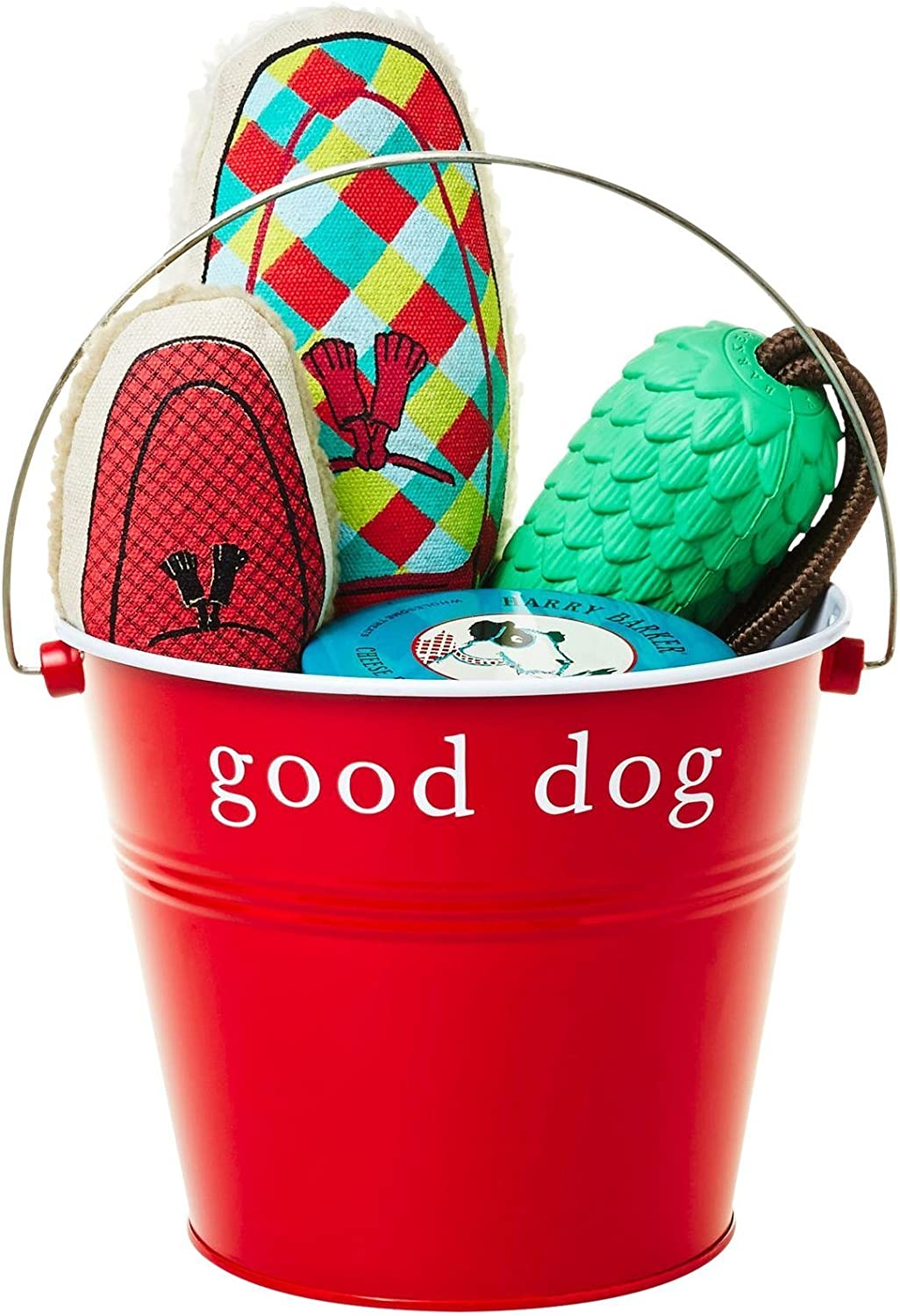 Harry Barker The Furry Friends Bucket, Red, One Size