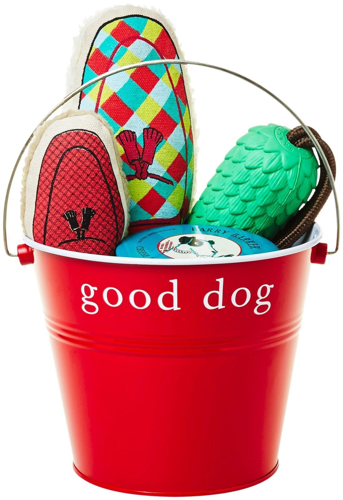 Harry Barker The Furry Friends Bucket, Red, One Size by Harry Barker
