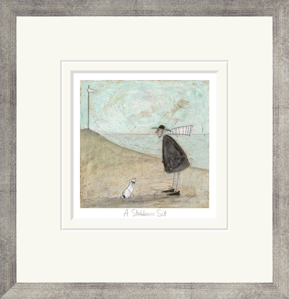 Unique Arts A Stubborn Sit Framing Option:Framed Print Limited Edition Print by Sam Toft