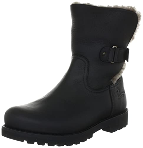 Women PT100346 Warm lined biker boots half length Panama Jack m7iDV