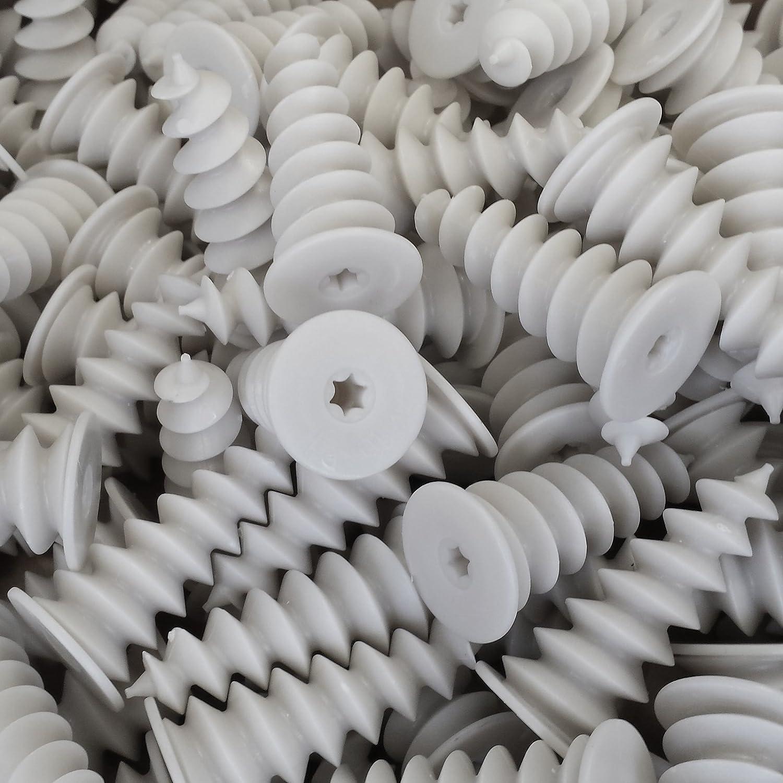 Dämmstoffdübel Isolierdübel Styropoldübel Spiraldübel Hartschaumdübel 25 Stück