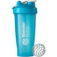BlenderBottle Classic Loop Top Shaker Bottle, 28-Ounce, Aqua/Aqua
