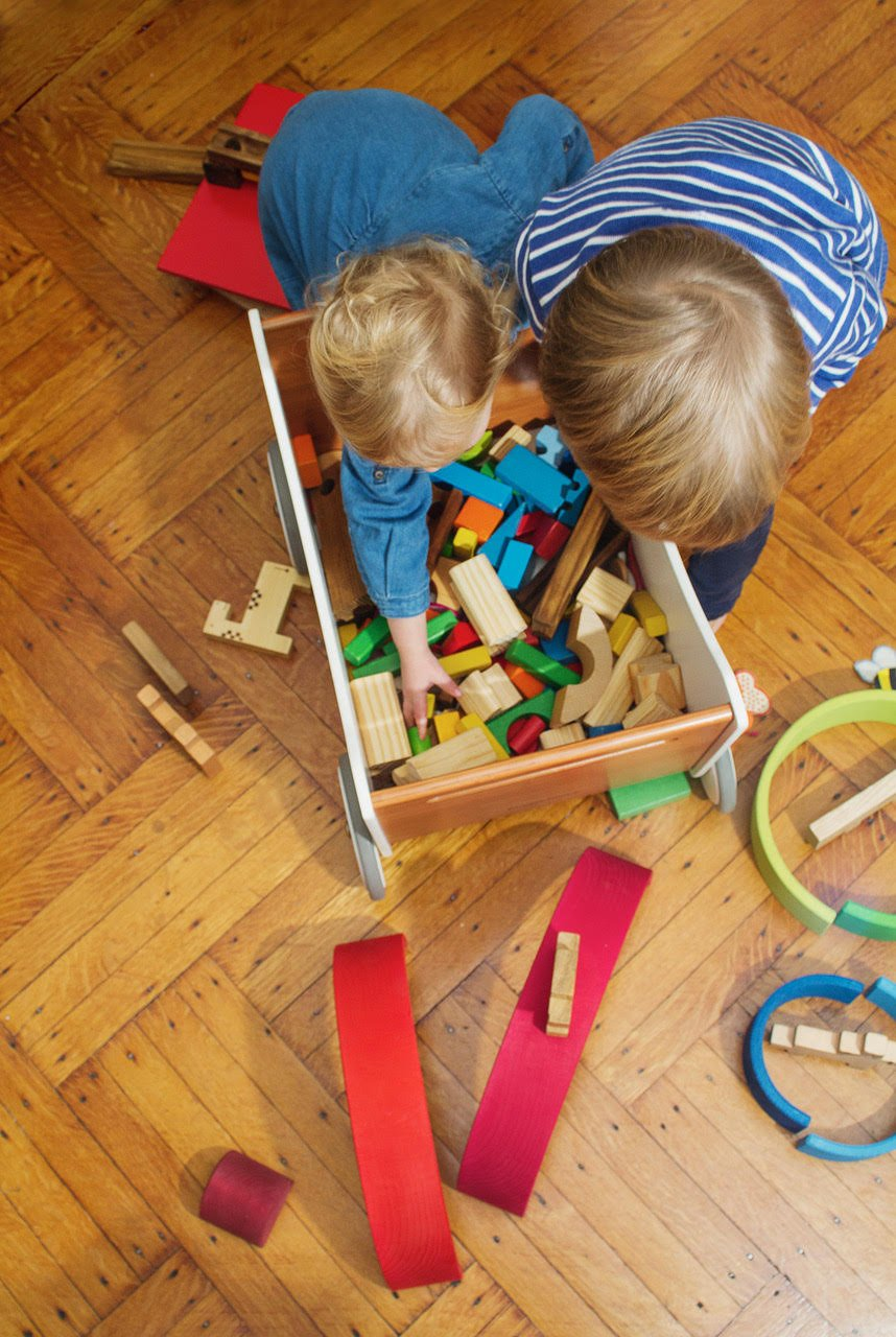 Kinderfeets Toy Box 2 in 1 Walker, Toy Storage and Walker by Kinderfeets (Image #5)