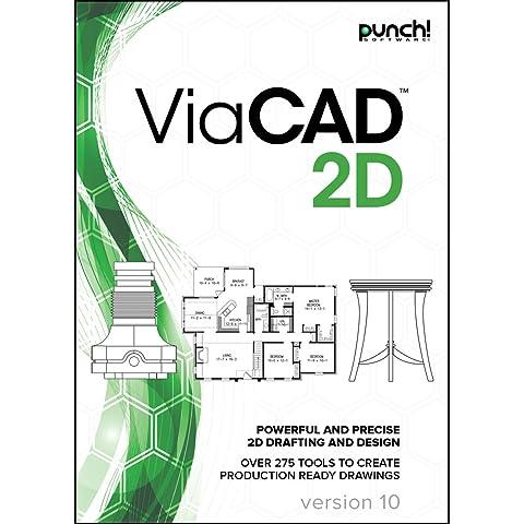 Punch! ViaCAD 2D v10 for Windows PC [Download] (Cad Program Software)