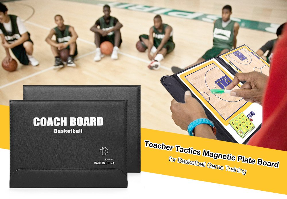 Teacher Tactics Board Magnetic Plate for Basketball Game Training Laura Blanco