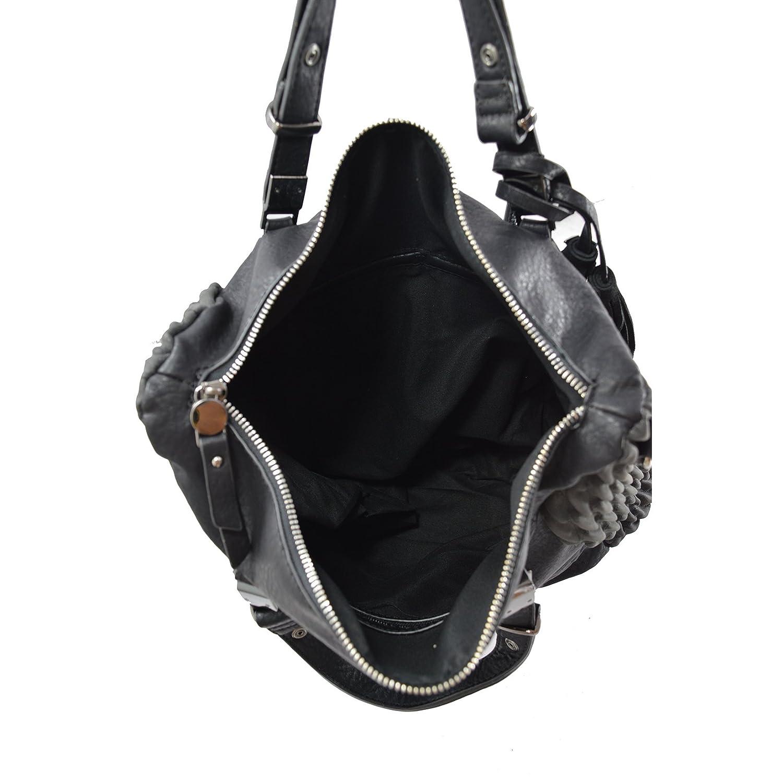 LOOKAT Frauen-Handtasche in in in PU-Leder mit Schulterriemen 38x35x11 Cm B01ITM9KLU Henkeltaschen Diversifiziertes neues Design fd13bd