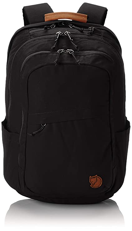 e2117b877eabb Fjallraven Raven 28L Laptop and Travel Everyday Carry Backpack - Black