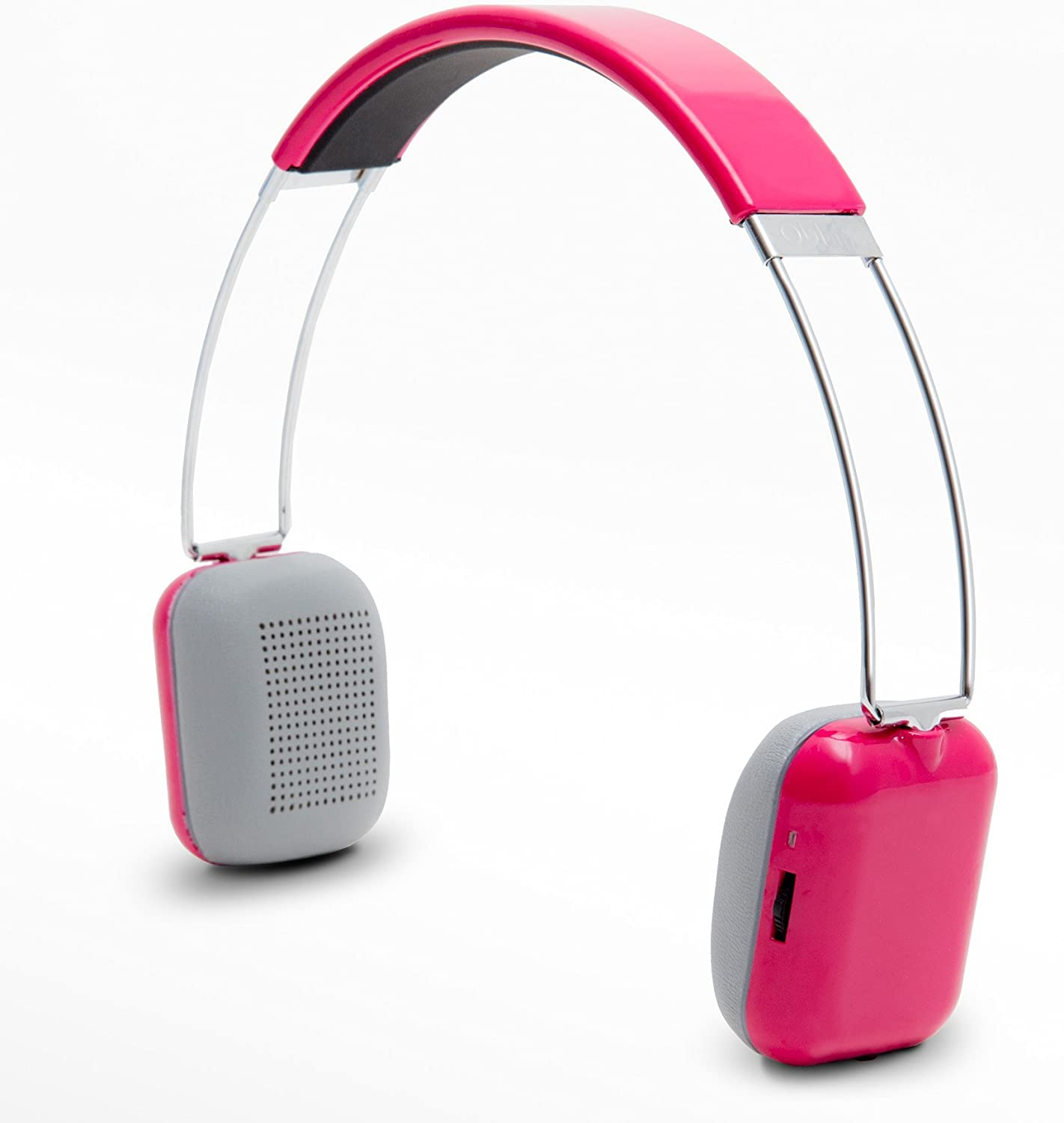 Oblanc SY-AUD23061 Rendezvous Wireless Bluetooth Headphone with Built In Micrphone Pink