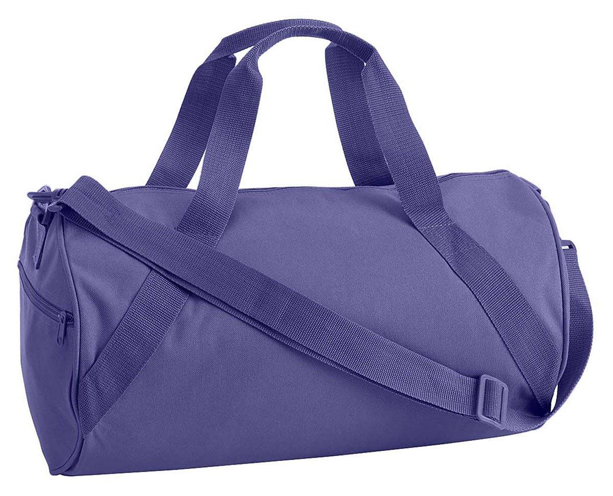 Liberty Bags Barrel Duffel OS Purple