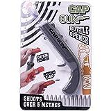 Cap Gun Launcher Shooter Bottle Opener,Beer Openers - Shoots Over 5 Meters, Gray