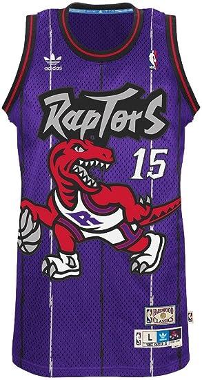 new arrival 4b18e 2282c Vince Carter Toronto Raptors Adidas NBA Throwback Swingman Jersey - Purple