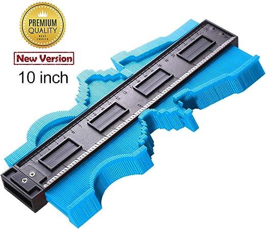 """Plastique Contour Profile Gauge 125 mm//5/"""" Carrelage Stratifié Carrelage Bord Shaping"""