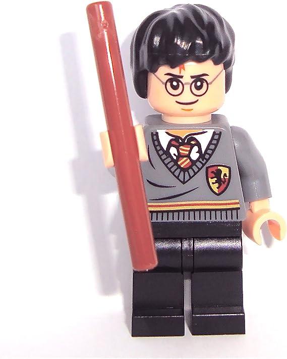 LEGO Harry Potter: Harry Potter Minifigura Con Marrón Varita Mágica