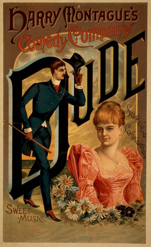 ハリーMontagueのコメディDude Theatreポスター 12 x 18 Art Print LANT-4167-12x18 B017Z0KZUW  12 x 18 Art Print