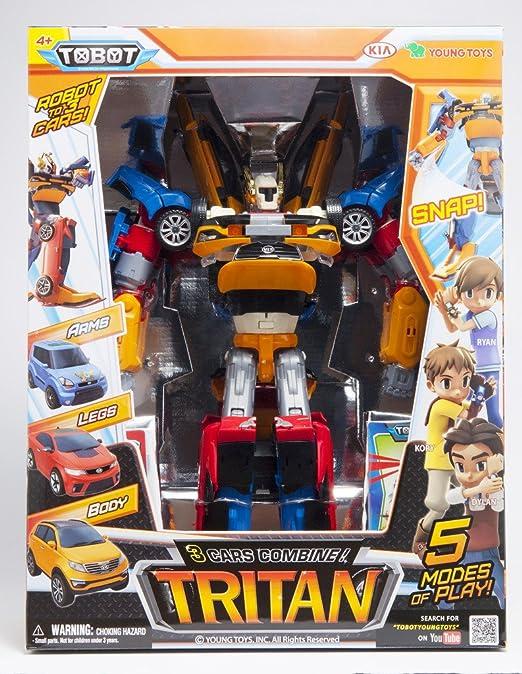 Z Y Transformers Tobot X Action Tritan Figure Robot Jouet Voiture VSqUzMp