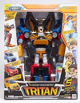 Amazon Com Tobot Youngtoys Tritan 3 Car Integration Robot