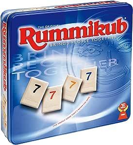 Juegos en familia Hasbro - Rummikub Edicion De Lujo 14338175 (versión española): Amazon.es: Juguetes y juegos