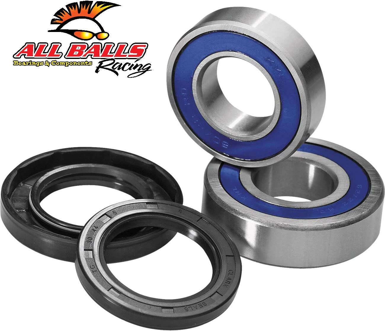 Front Wheel Bearing Kit Replacement For 2006-2010 Kawasaki Ninja 650R Motorcycle