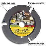 Grinder Wood Carving Disc GRAFF Speedcutter