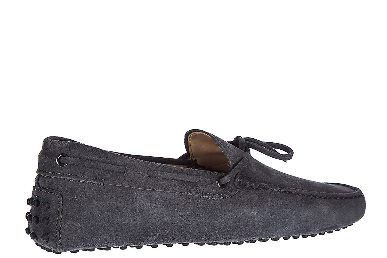 ded88193b80 Tod s Men s Suede Loafers Moccasins laccetto gommini 122 Grey US Size 12  XXM0GW05470RE0B608  Amazon.co.uk  Shoes   Bags