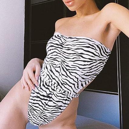 Lonshell Traje de baño Mujer Bikini 2019 Sexy Traje de baño de Color sólido con Push-up Sujetador Acolchado Traje de 2 Piezas con Vendaje Antiarrugas Traje ...