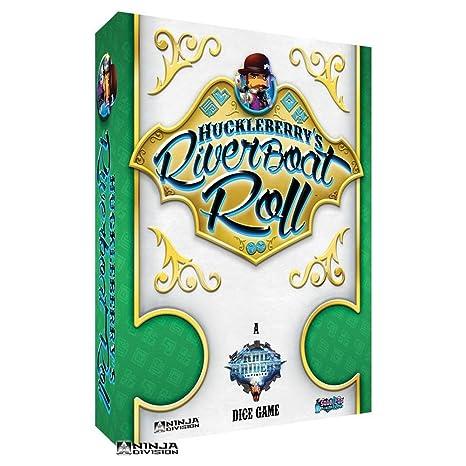 Amazon.com: Ninja Division Huckleberrys Riverboat Roll: Toys ...