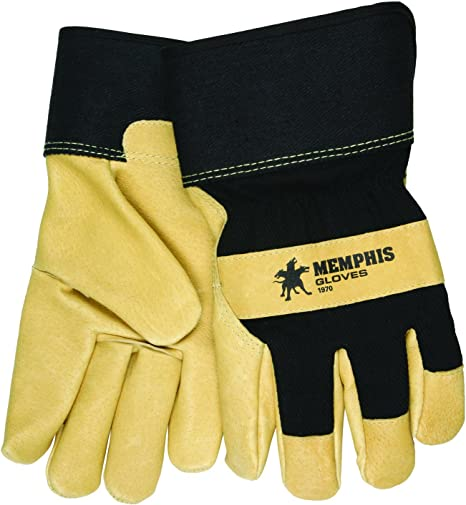 S-M-L-XL Soft Pigskin-Cowhide Adult Leather Riding Work Driving Gloves Men Women