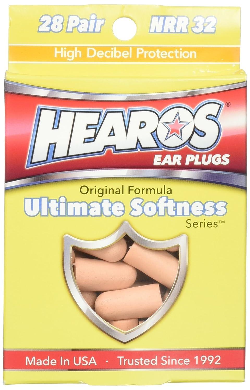 14 pairs Hearos ultimate softness series ear plugs